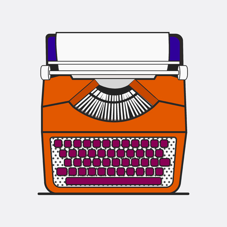 Old school device vector Ilustracja