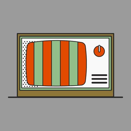 Old school device vector Illustration
