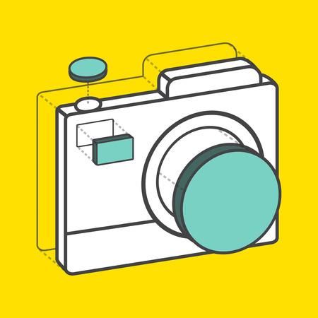 Fotocamera concettuale creativa di conversione Archivio Fotografico - 85821046