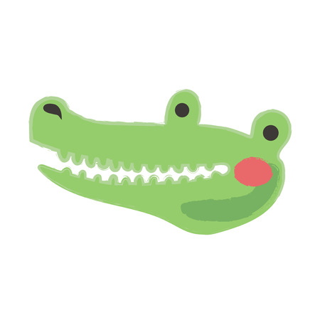 Illustration style of wildlife - Alligator