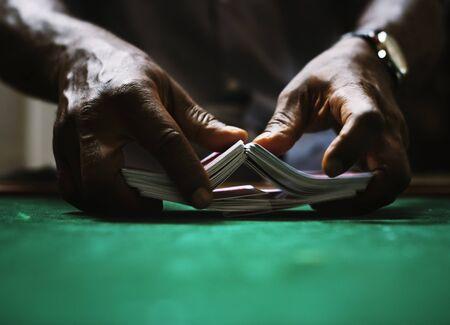 Card gambling game bet luck