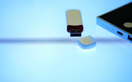 Universal Serial Bus portable data backup
