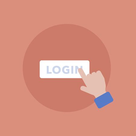 Login-pictogram