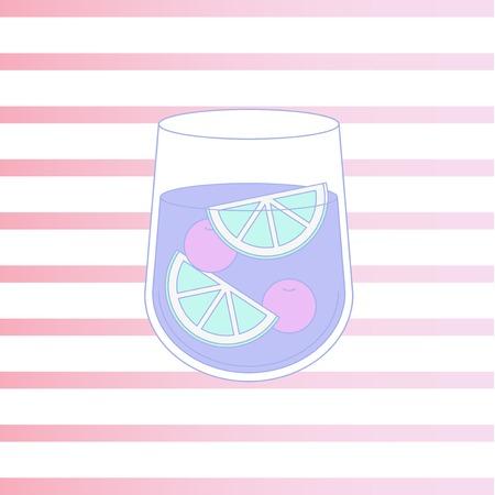 음료 아이콘 일러스트