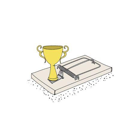 Success is a trap Illustration