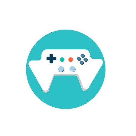Illustration of game console