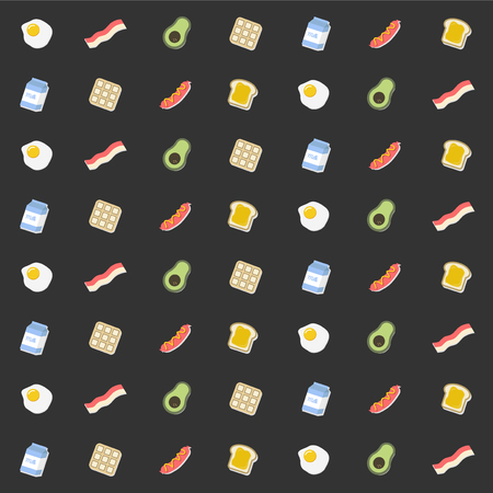 Naadloos voedselpatroon