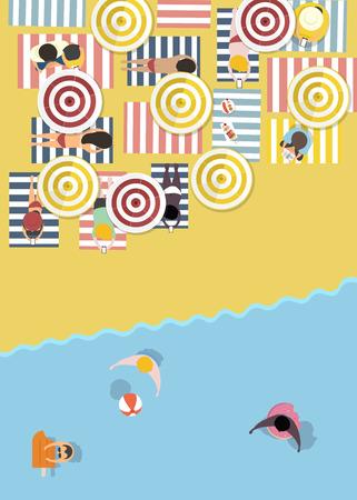 Vector van de zomer voelen ontwerp