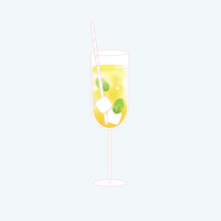 Vector d'une boisson Banque d'images - 86156972
