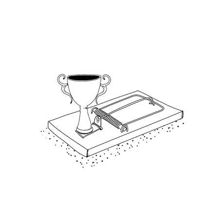 Vector of successful trophy trap
