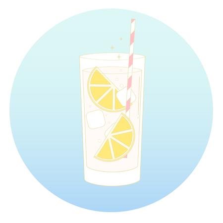 Vector van een drank Stock Illustratie