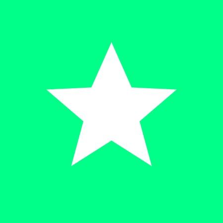 White star Illustration