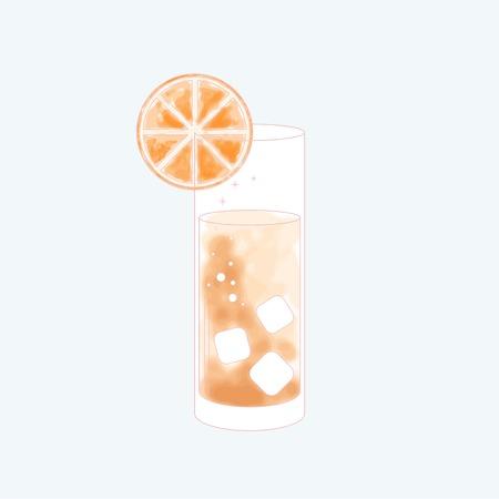 A beverage