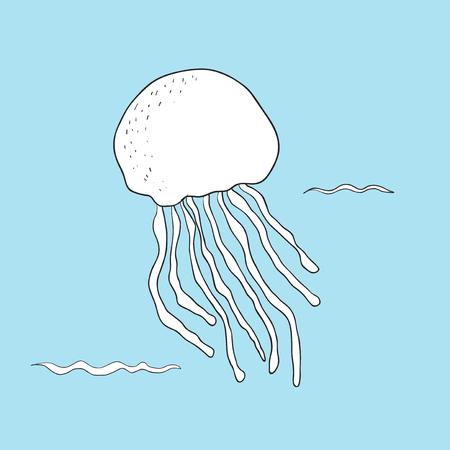 Vector of underwater creatures Zdjęcie Seryjne - 86205467