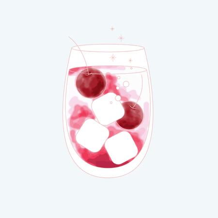 飲料のベクトル  イラスト・ベクター素材