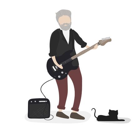 Illustratie van menselijk avatar
