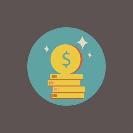 Illustratie van financieel Stock Illustratie