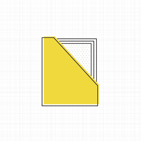 Vector of office supply icon Ilustrace