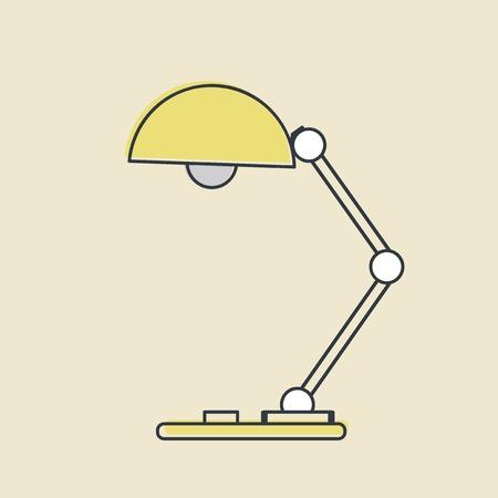 Vector van lamp pictogram