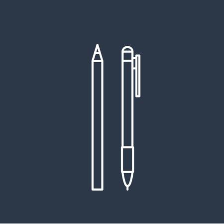 Vector van penpictogrammen