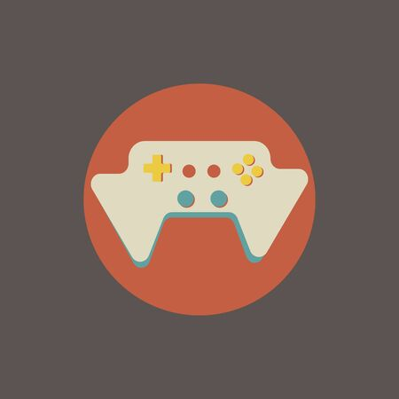 Illustration of game console vector