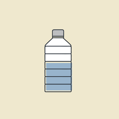 Vector of water container icon