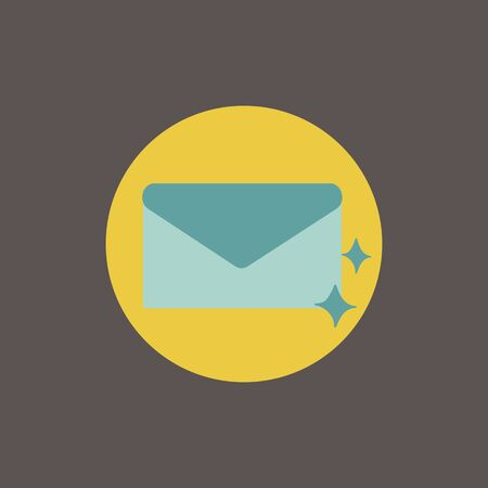 Illustration of mail icon symbol Stok Fotoğraf - 90589729
