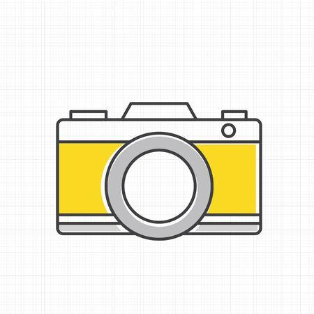 Vector of camera icon. Stock fotó - 86923659