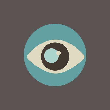 Illustration of eye icon