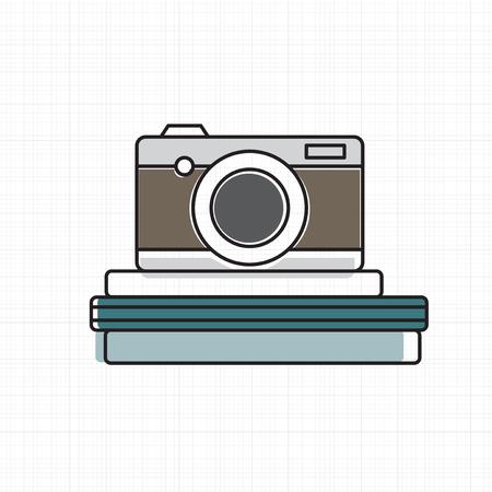 Vector of camera icon. Ilustração