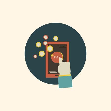 Illustration of digital device icon