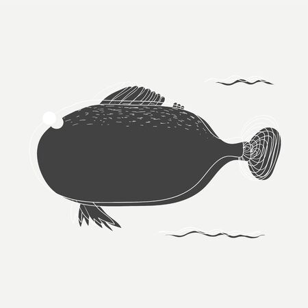 Underwater creature Reklamní fotografie - 86964346