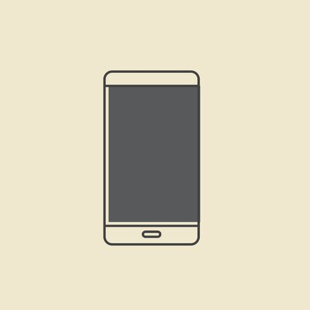 Vector of mobile phone icon.