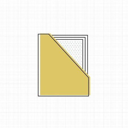 オフィス供給アイコンのベクトル。  イラスト・ベクター素材