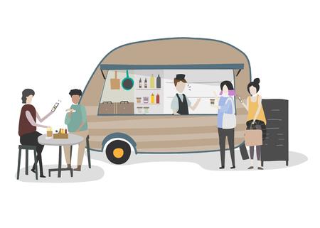 People vector. Ilustração