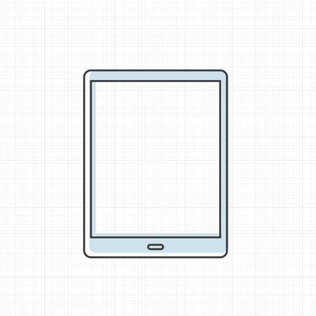 Vector of digital tablet icon.
