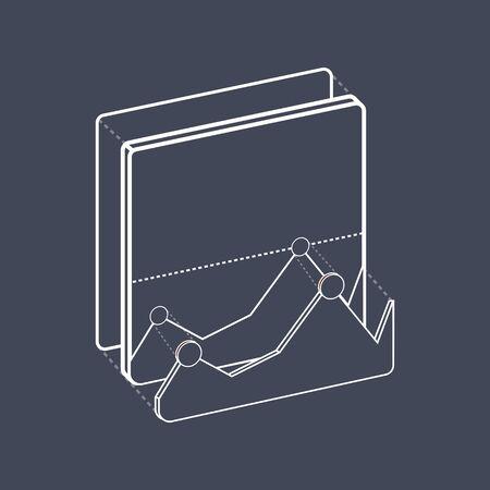 Illustration of recreation icon Ilustracja