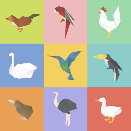 動物のコレクションは、ベクトル図を設定しています。  イラスト・ベクター素材
