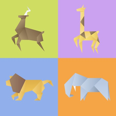 AN animal collection set vector illustration.