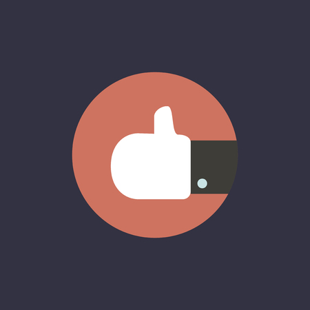Vector of thumb up