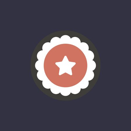 Vector of star icon