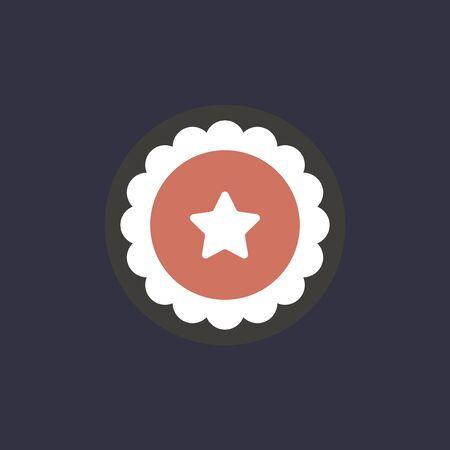 Vector de icono de estrella Foto de archivo - 87626371