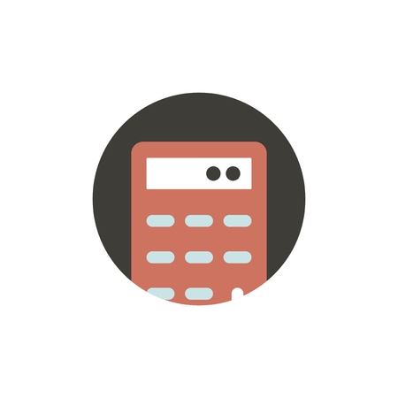Vector of calculator icon Reklamní fotografie - 87626378