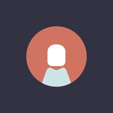 Vector of avatar icon Illustration