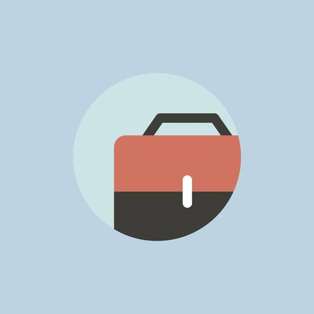 Illustration of business bag icon