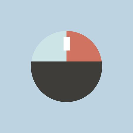 Illustratie van cirkeldiagram
