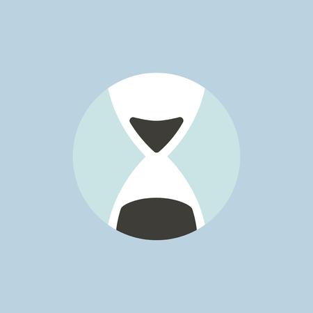 砂時計のアイコンのベクトル  イラスト・ベクター素材
