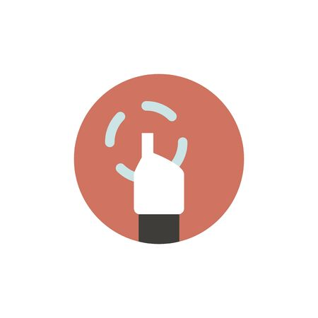 Vector of hand cursor Illustration