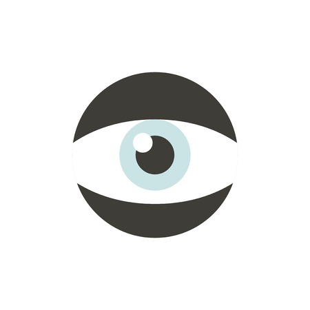 Vector of eye icon Illustration