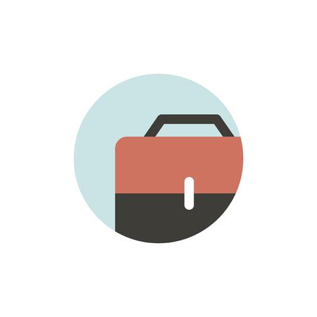 Illustration of business bag icon